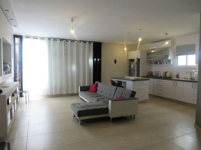 4 pieces tout confort parking.rivel - Netanya - Bed & Breakfast