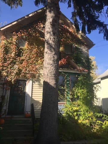 Cozy house in trendy neighborhood - Madison - Huis