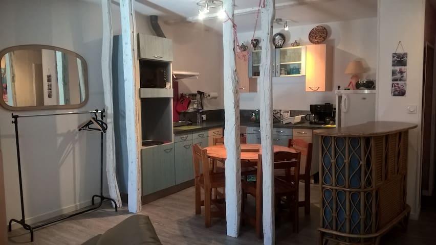 studio indépendant chez l'habitant - Fleurance - Stadswoning