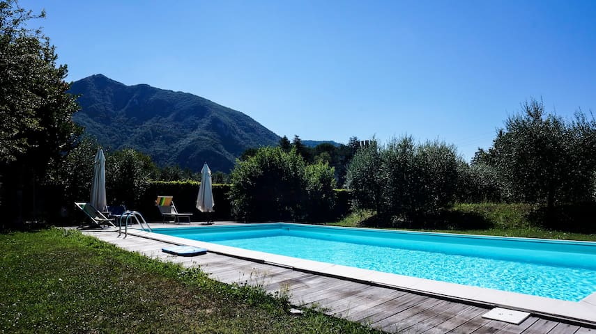 """""""Ambra"""" Apartment with parking,pool and garden!! - Lucca - Appartement"""
