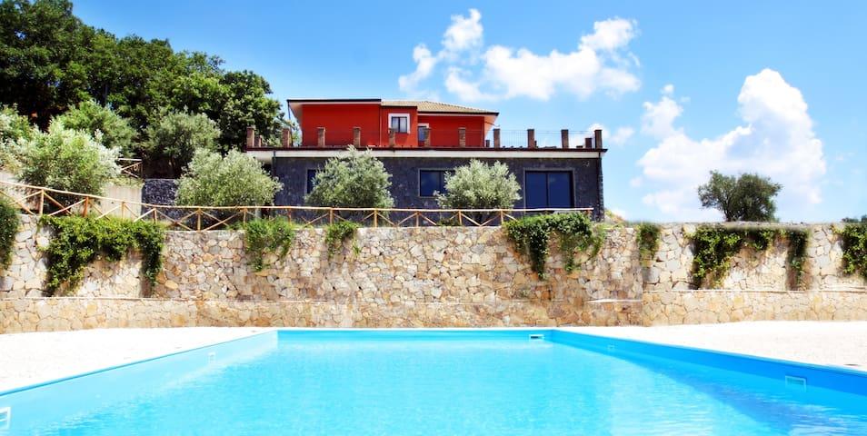 Agriturismo Le Oreadi - Francavilla di Sicilia - Villa