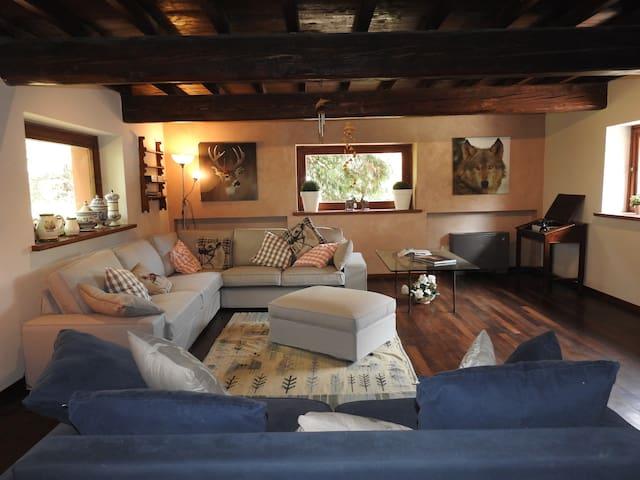 THE WOLF COUNTRY HOUSE - Cafragna - Villa