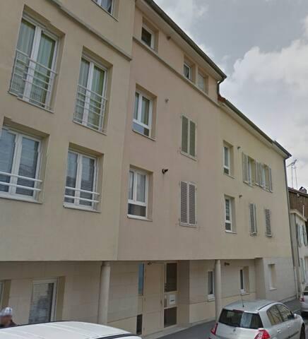 Studio spacieux Chalons Centre - Châlons-en-Champagne - Leilighet