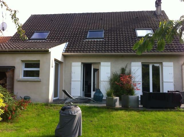 Maison agréable proche de Paris et Disney - Tournan-en-Brie - Casa