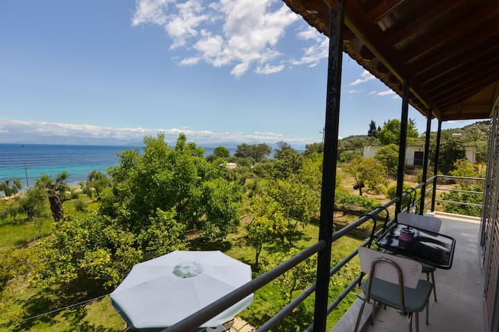 See Corfu Relaxing house with garden and sea view - Mpoukaris - 公寓