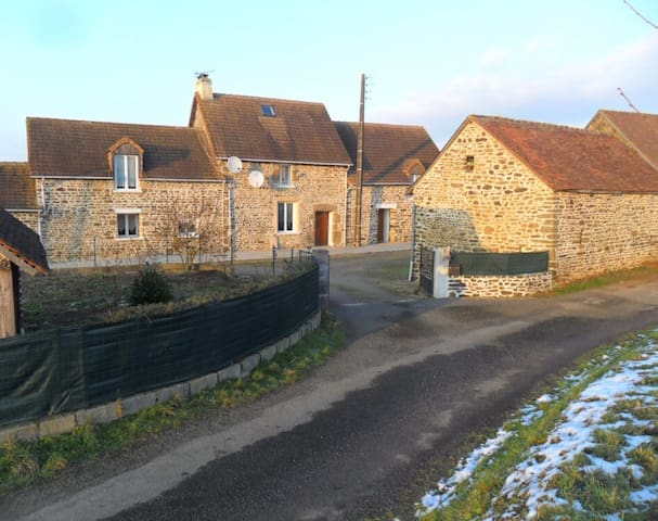 Beautiful traditional stone French country house - Saint-Siméon - Huis