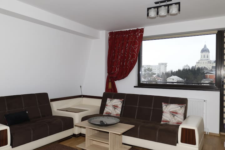 Charming central apartment with a great view - Bacău