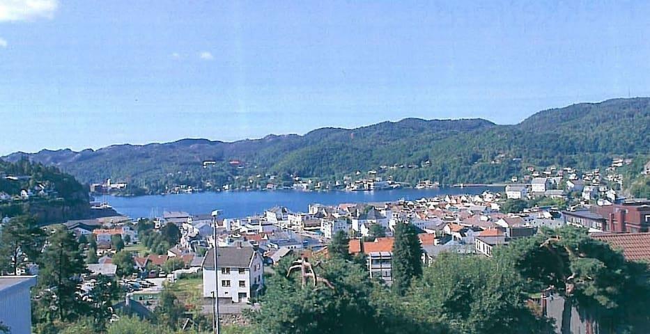 Sleepingrom with a great view - Flekkefjord - Rumah