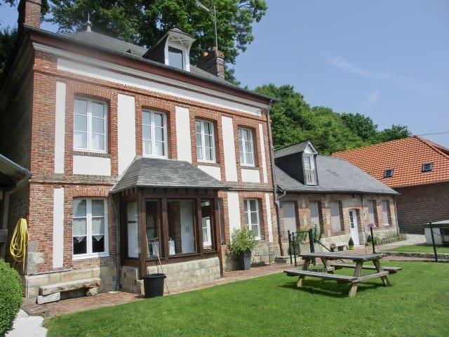 maison de chounette - Fontaine-le-Dun - Hus