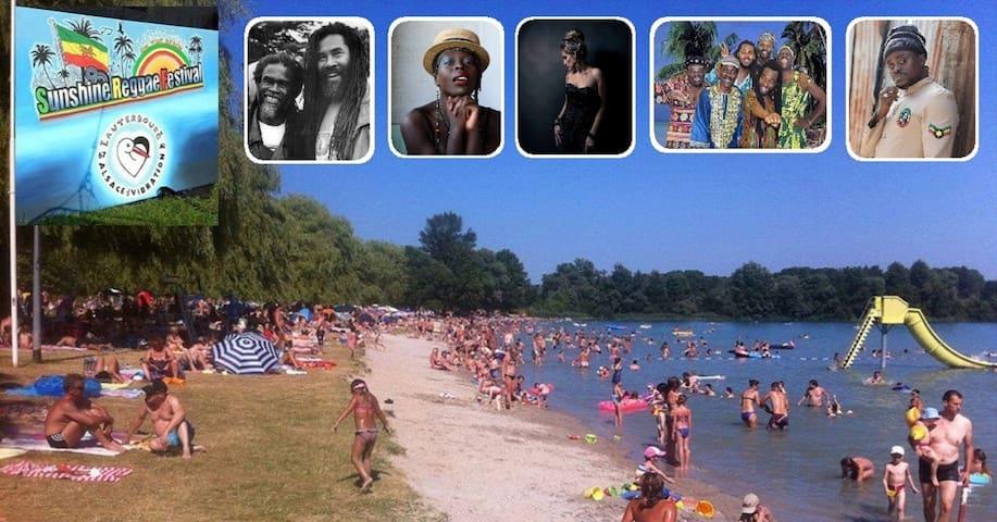 7. Sunshine Reggae Festival on the Beautiful Beach - Lauterbourg