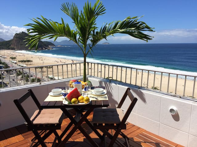 Penthouse surplombant la plage de Copacabana - Rio de Janeiro - Appartement