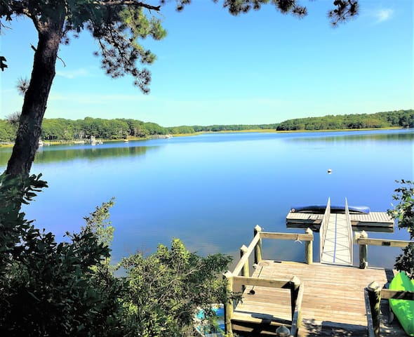 New Seabury Oceanfront home with private dock - Mashpee