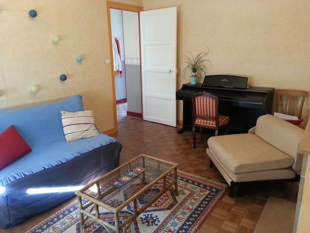 Chambre chez étudiantes sympas proche gare - Angers - Lägenhet