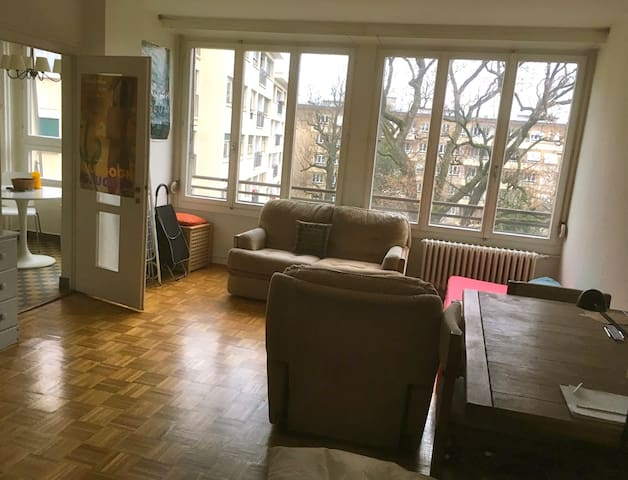 Cosy studio close to the lake & the city center - Genève - Appartement