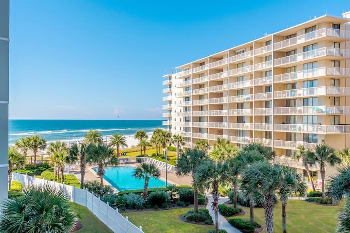 BEACHFRONT Luxe 1BR w/ BUNKS - 2 Bath $99NT - FUN! - Orange Beach - Apto. en complejo residencial