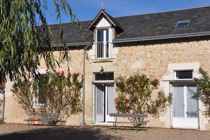 Maison de vacances avec piscine - Chambourg-sur-Indre - Casa
