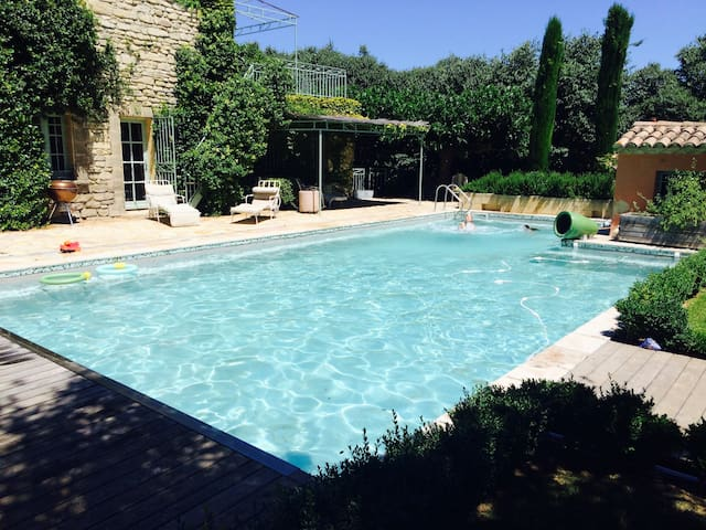 Stunning house with salt-water pool and gardens. - Saint-Siffret - Hus