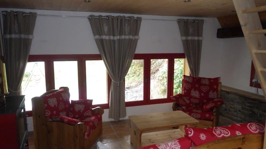 Appartement entre lac et montagne proche Annecy - Leschaux - Appartement