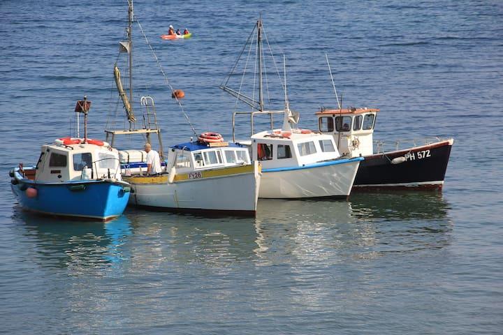 Amazing Harbour and Coastal Views!! - Polperro - Hus