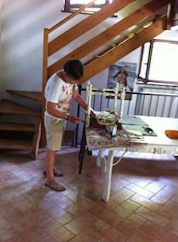 la casina di Maria - Pescantina - ロフト