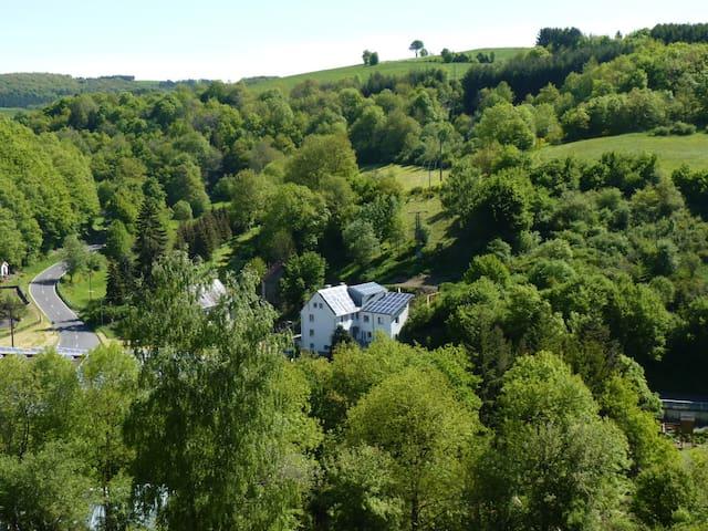 Sehr große Eifel Ferienwohnung, nähe Luxemburg - Zweifelscheid - Condo