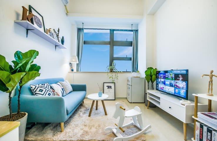 厦门-Amoy假日 1号短租民宿公寓 BRT沿线复式 - Xiamen - Apartament