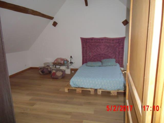 chambre insolite - Saint-Gondon - Huis