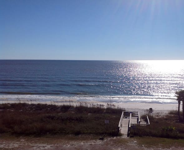 Huge 2 BR with perfect ocean view! - Mexico Beach - Apto. en complejo residencial