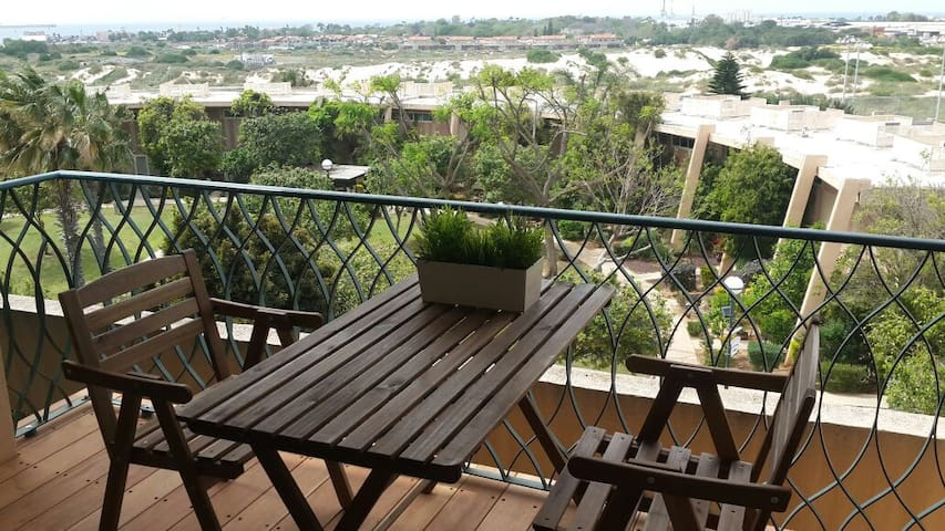 Sea View Condo : Caesarea's gated vacation complex - Caesarea - Osakehuoneisto