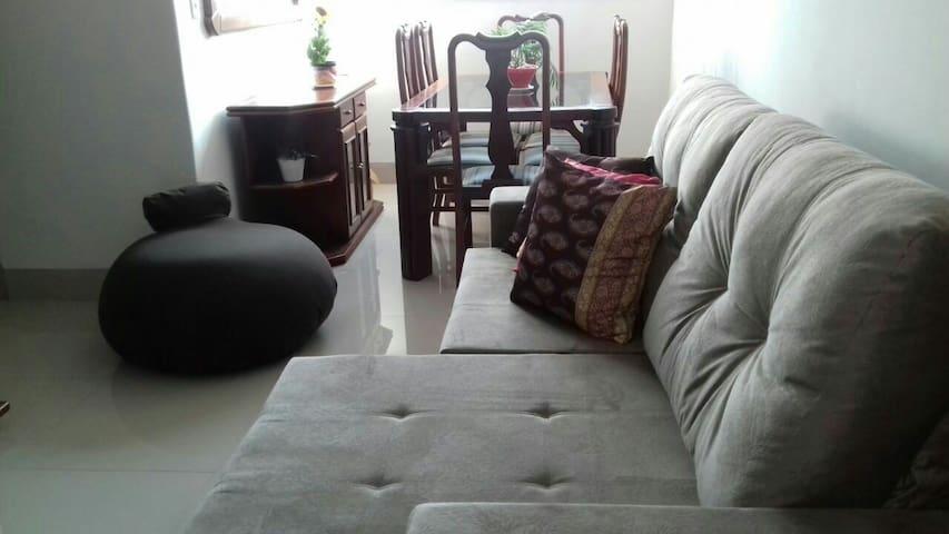 Apt seguro, confortável, st Bueno - Goiânia - Квартира