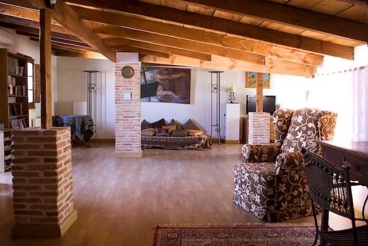 Delightful loft close to Chinchon and Aranjuez - Villaconejos - Loft