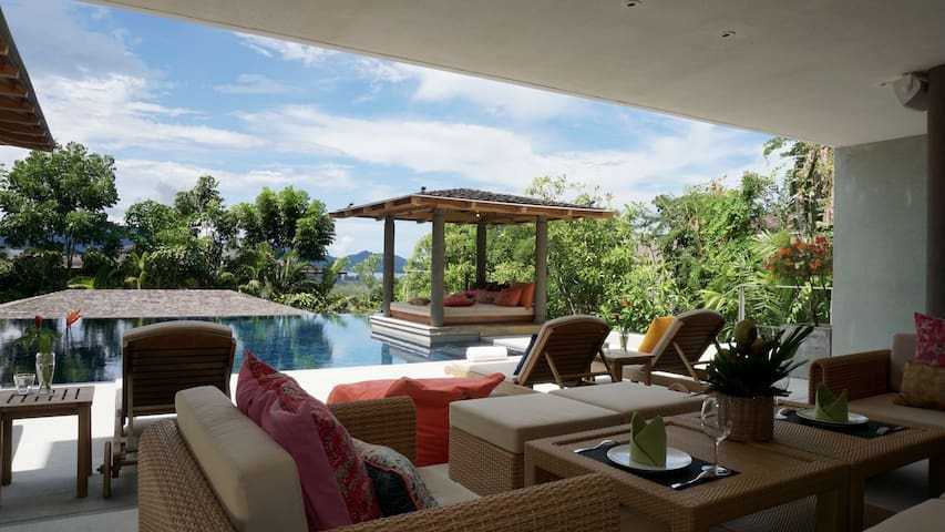 Villa with Sea view in the hills - Choeng Thale - Casa