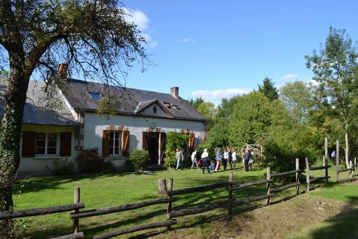 Magnifique maison forestière en pleine nature - Nibelle - Hus