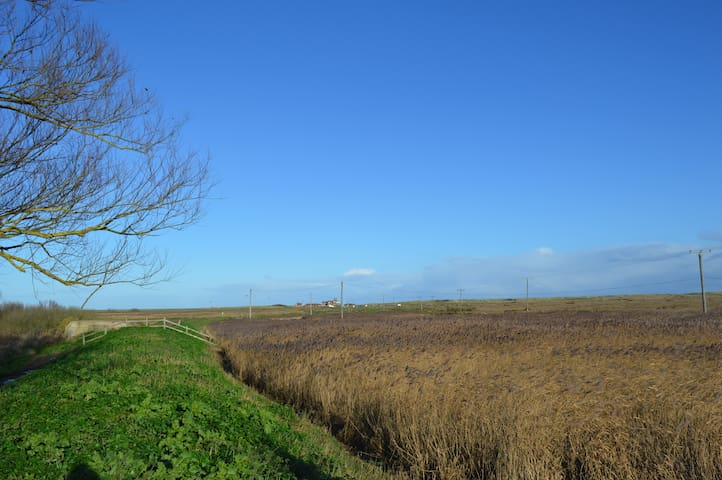 Brancaster Cottage - fab position close beach - Norfolk