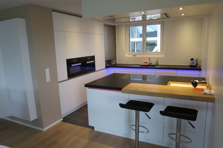 Modern, bright 6.5 rooms family house near Zurich - Wettswil am Albis