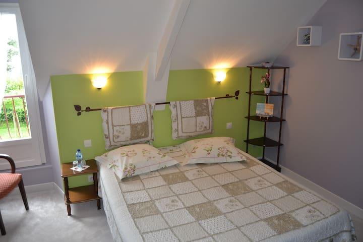 chambre  tout confort dans la baie du Mt St Michel - Hirel - Pension