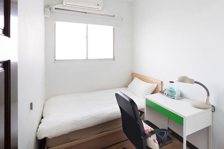Feng Chia, Bus Stop, Single, Wifi | 適合背包客入住的Soho公寓 - Beitun District - Appartement
