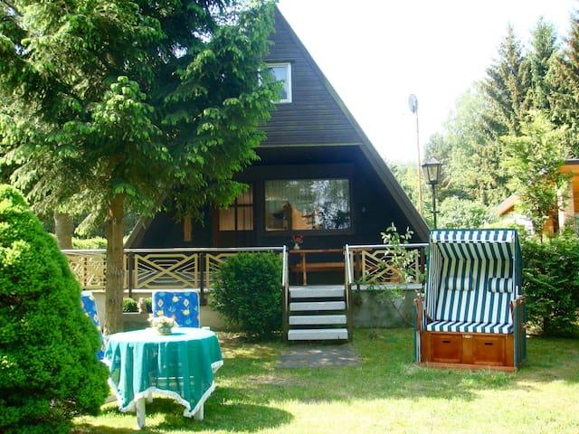 Ferienhaus direkt am See - Neuruppin