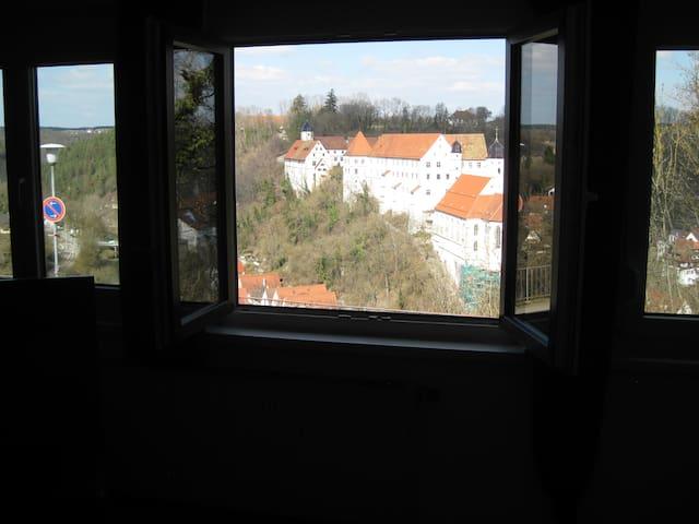 Großzügige Fewo mit Eyachtalblick - Haigerloch - Appartement
