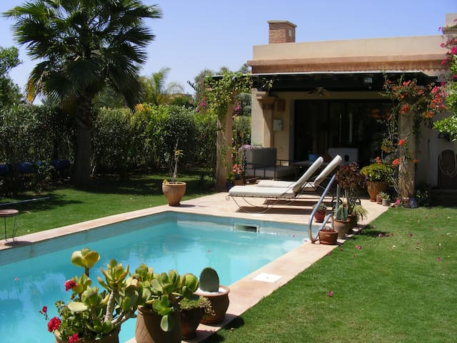 (100) GRANDE VILLA DANS  JARDIN  SANS VIS-A-VIS - Agadir - Casa
