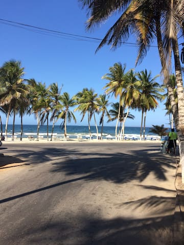 Cabaña vacacional en Playa El Agua - Playa El Agua - Houten huisje