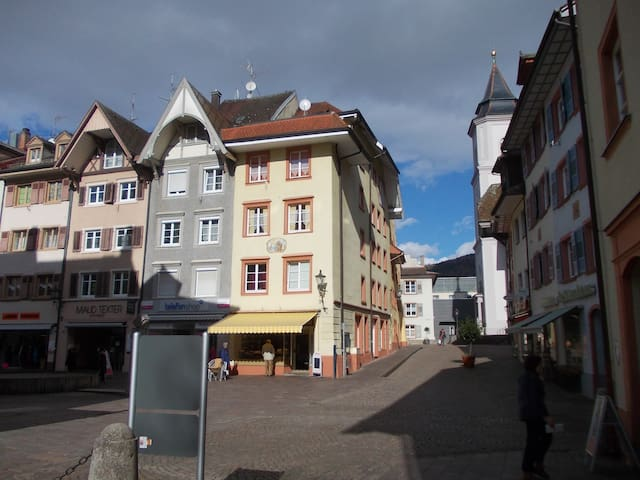 1Zi. Whg. Waldshut Altstadt  2OG H - Waldshut-Tiengen - Huis