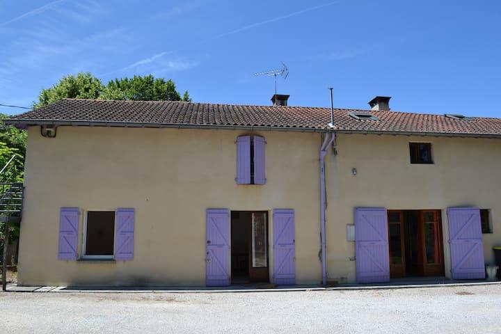 Appartement dans maison à la campagne - Montastruc-la-Conseillère - Lägenhet