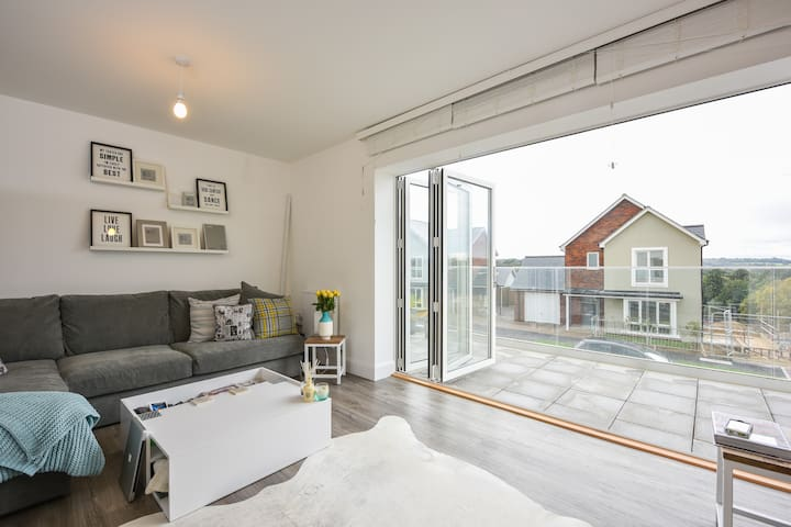New light & airy Scandi chic w/bath - Tunbridge Wells - Hus