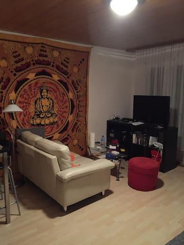 Ruhig gelegene 3.5 Zimmer Wohnung - Umiken - Apartemen