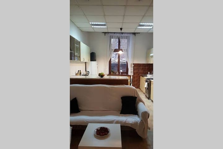 Spacious private room 4 mins from the Main Square - Kraków - Appartement