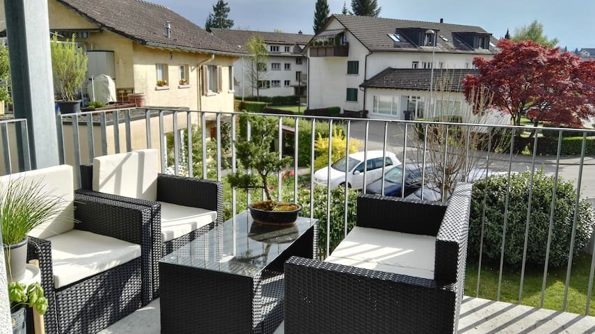Charming appartement in a quiet location - Rüti - Appartement