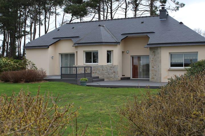 Maison vu sur mer Golfe du Morbihan - Baden - Hus