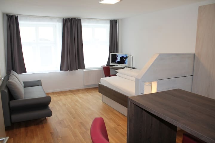Altstadtwohnung, Einzimmerwohnung  - Dinkelsbühl - Appartement