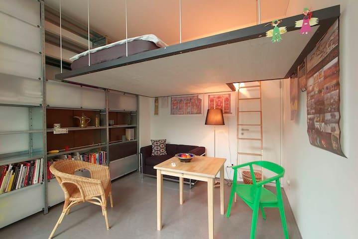Centrally located, sunny Studio. - Saint Gallen - Departamento